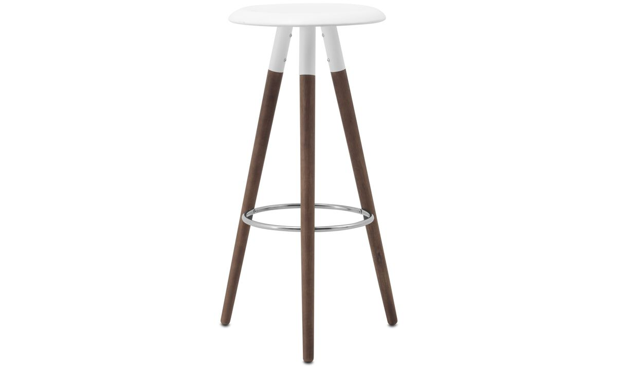 Bar stools - Vig barstool - Black - Lacquered