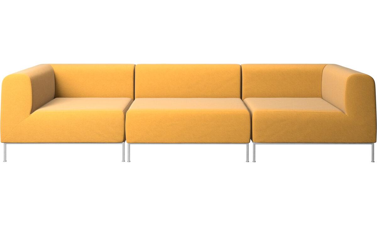 Modular sofas - Miami sofa - Yellow - Fabric