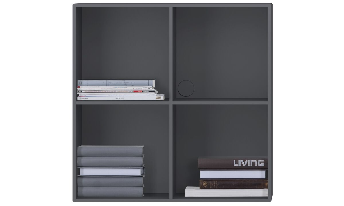 Bookcases & shelves - Como bookcase - Gray - Lacquered