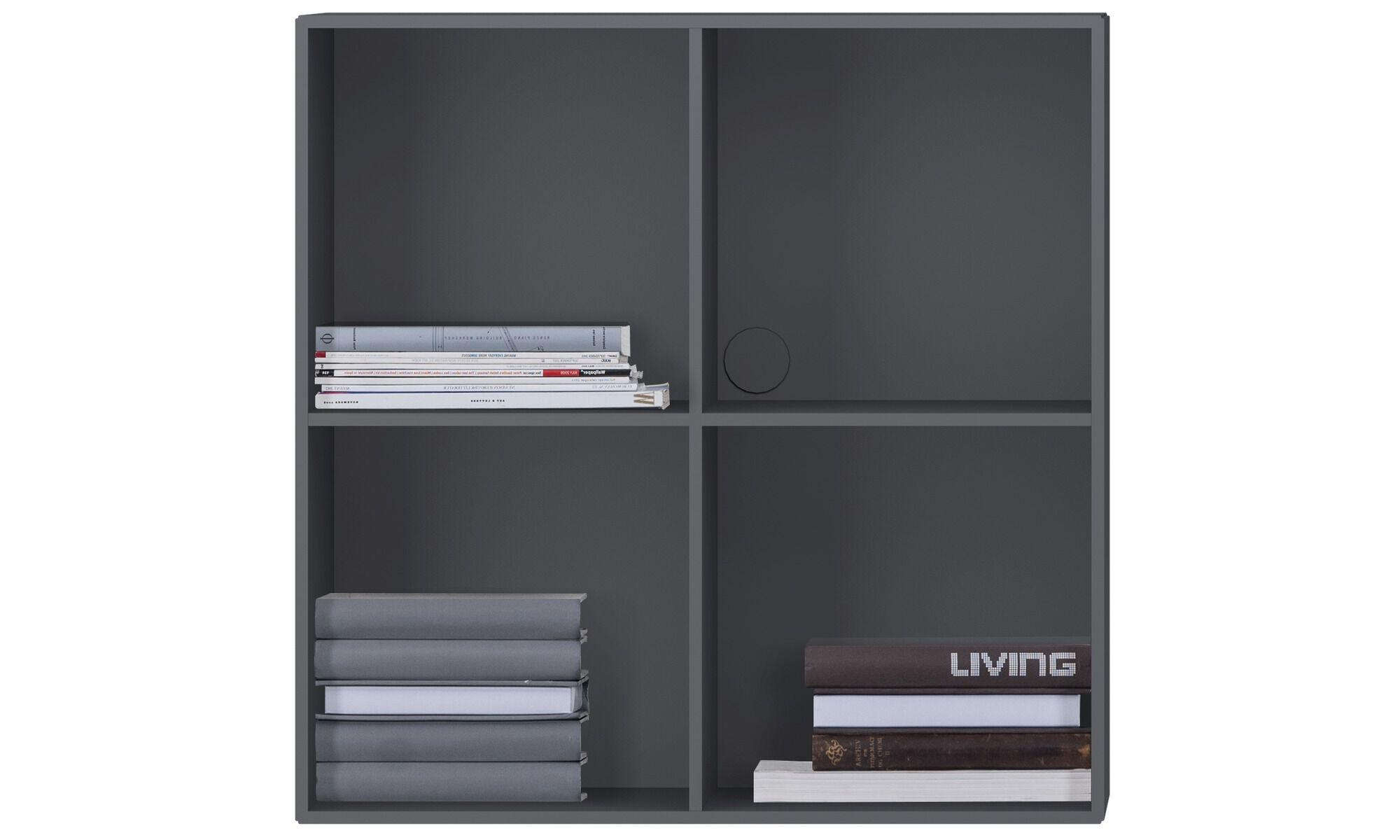 Charming Bookcases U0026 Shelves   Como Bookcase   Gray   Lacquered