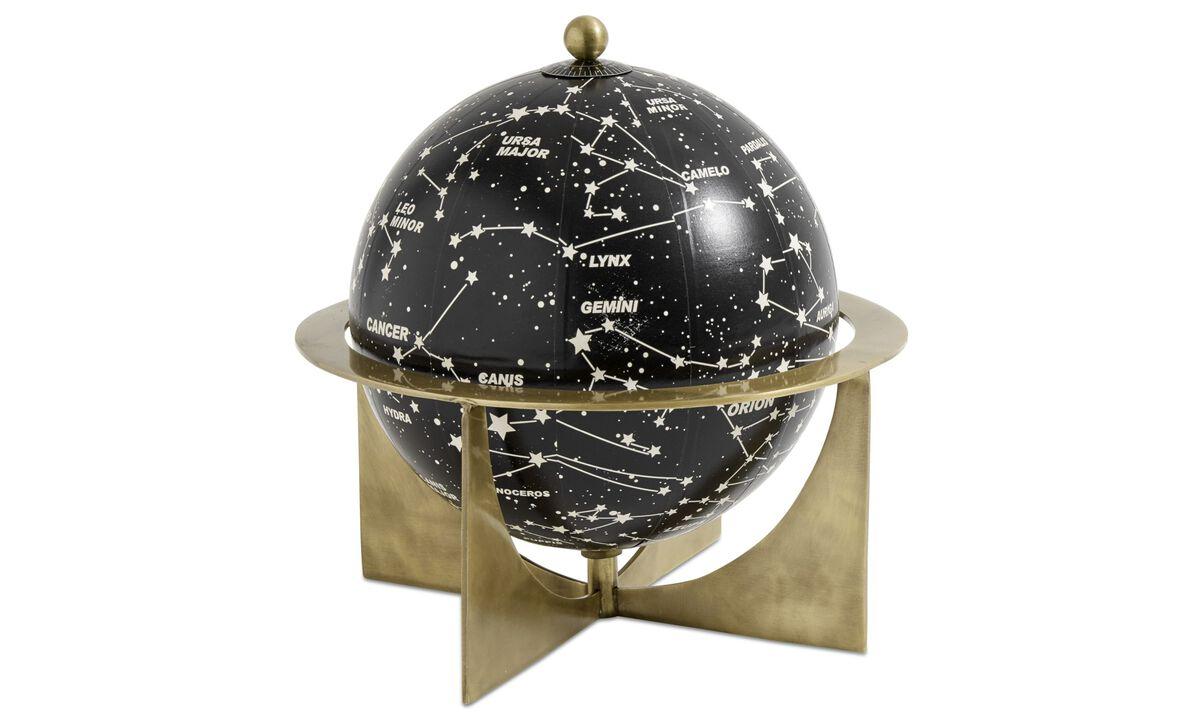 Sculpturen - Zodiac sculptuur - Geel - Metaal