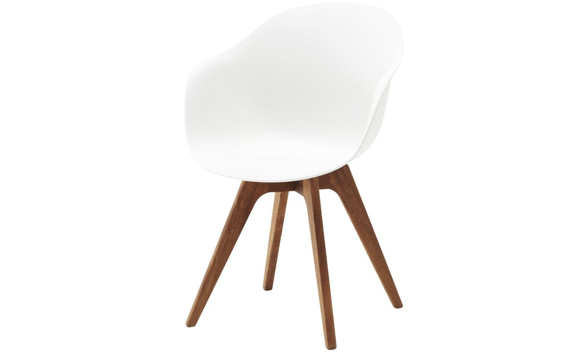 Design furniture in time for Christmas - Adelaide chair (for in and outdoor use) - White - Plastic