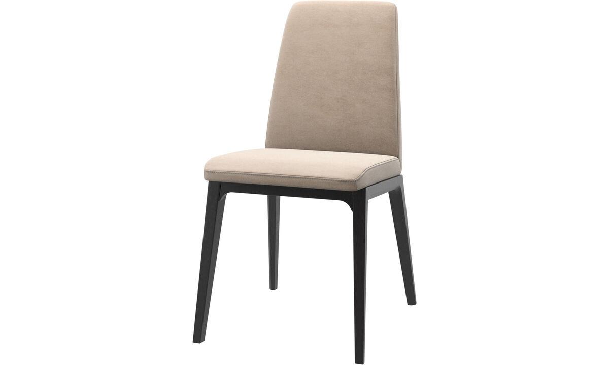 Cadeiras de jantar - cadeira Lausanne - Bege - Tecido