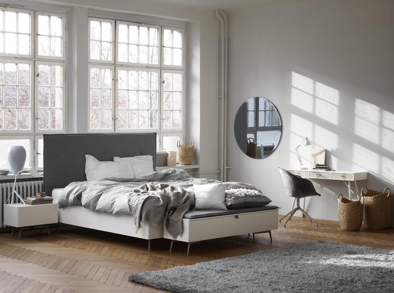 Diseños de Morten Georgsen - Cama Lugano, no incluye colchón