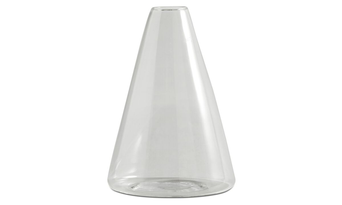 Vases - Clean vase - Clear - Glass