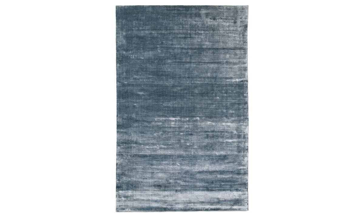 New designs - Waza rug - Blue - Fabric