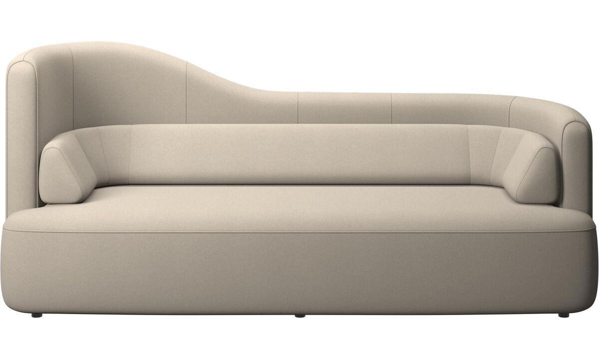 2,5-местные диваны - Диван Ottawa - Бежевого цвета - Tкань