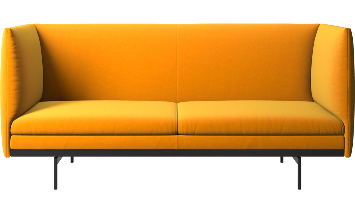 2 seater sofas - Nantes sofa - Orange - Fabric