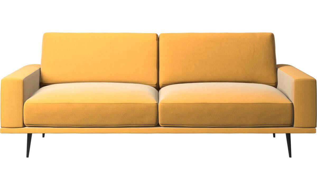 2½-sitzer Sofas - Carlton Sofa - Gelb - Stoff