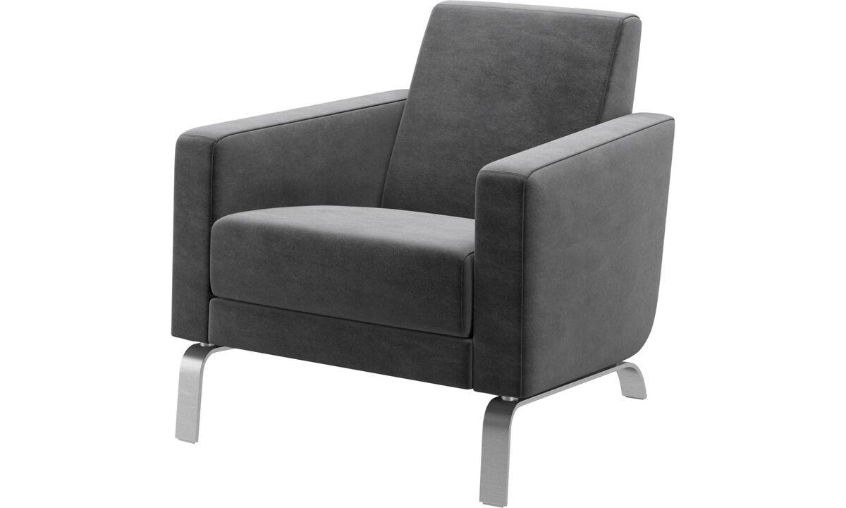 Armchairs - Fly chair - Grey - Fabric
