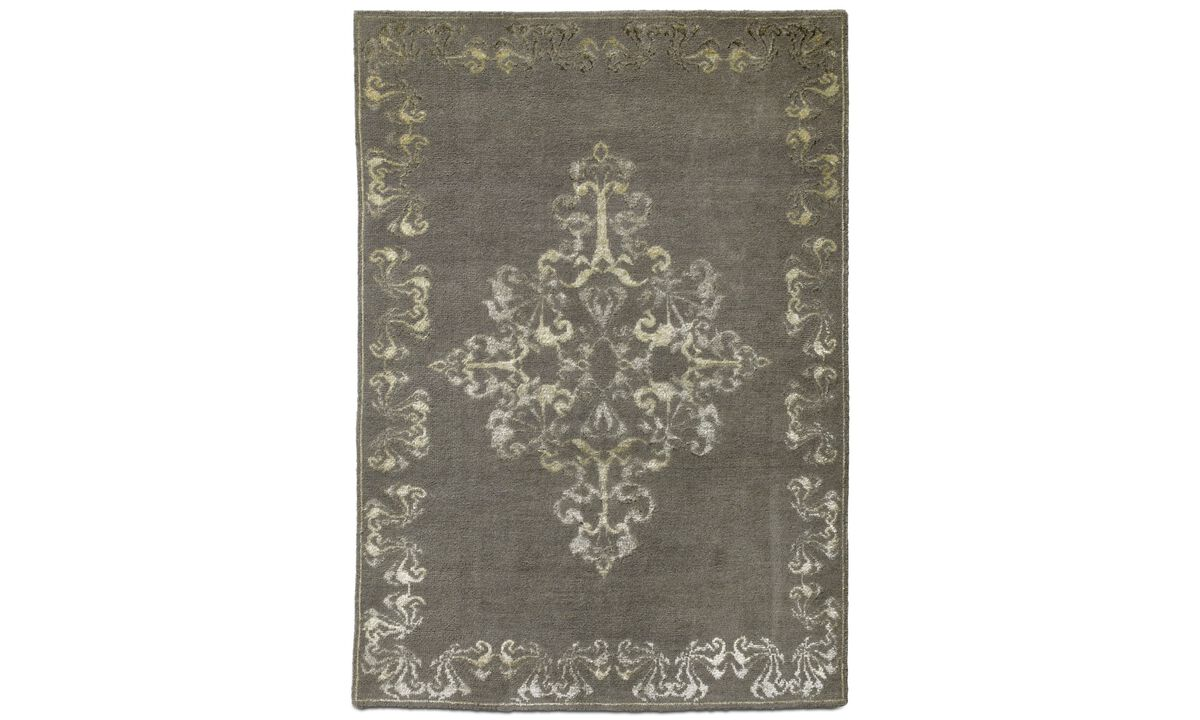 New designs - Niska rug - rectangular - Grey - Fabric