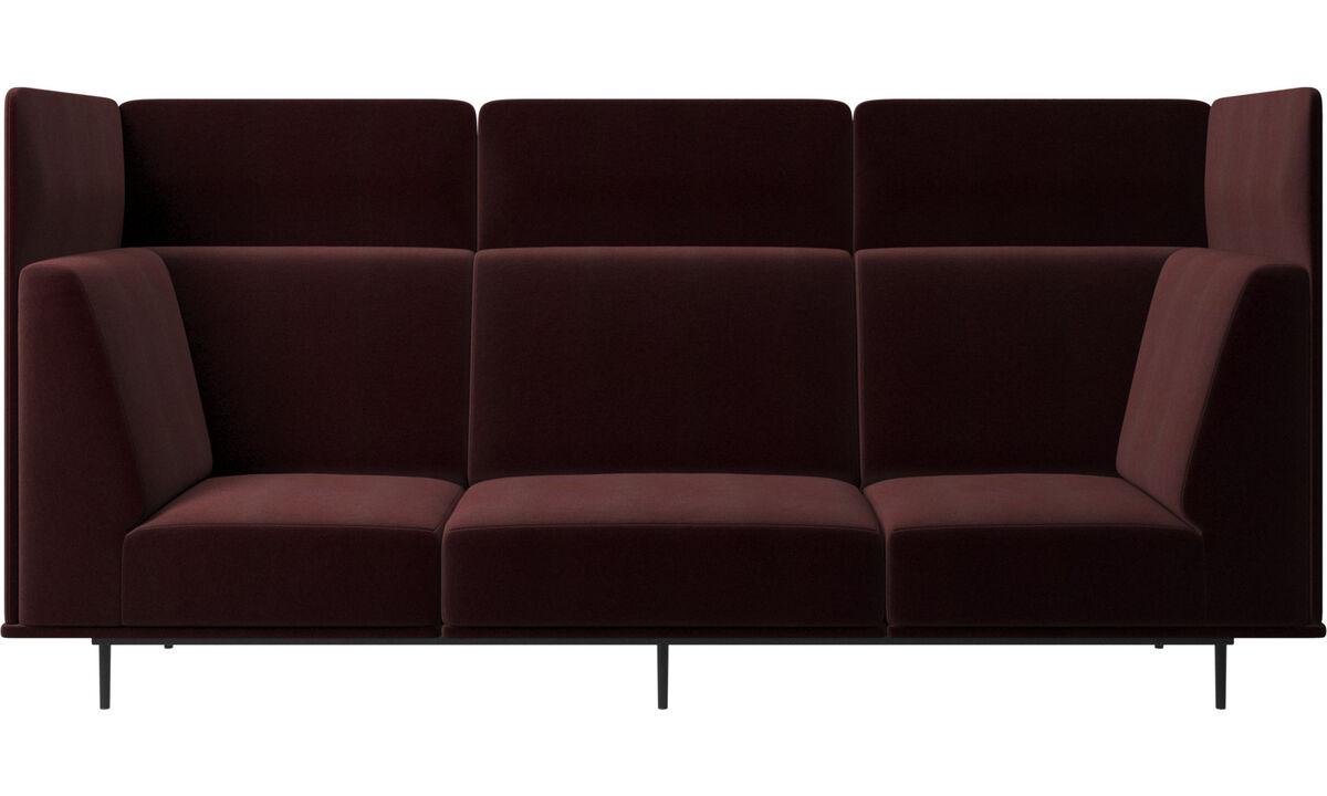 3 seater sofas - Toulouse sofa - Purple - Fabric