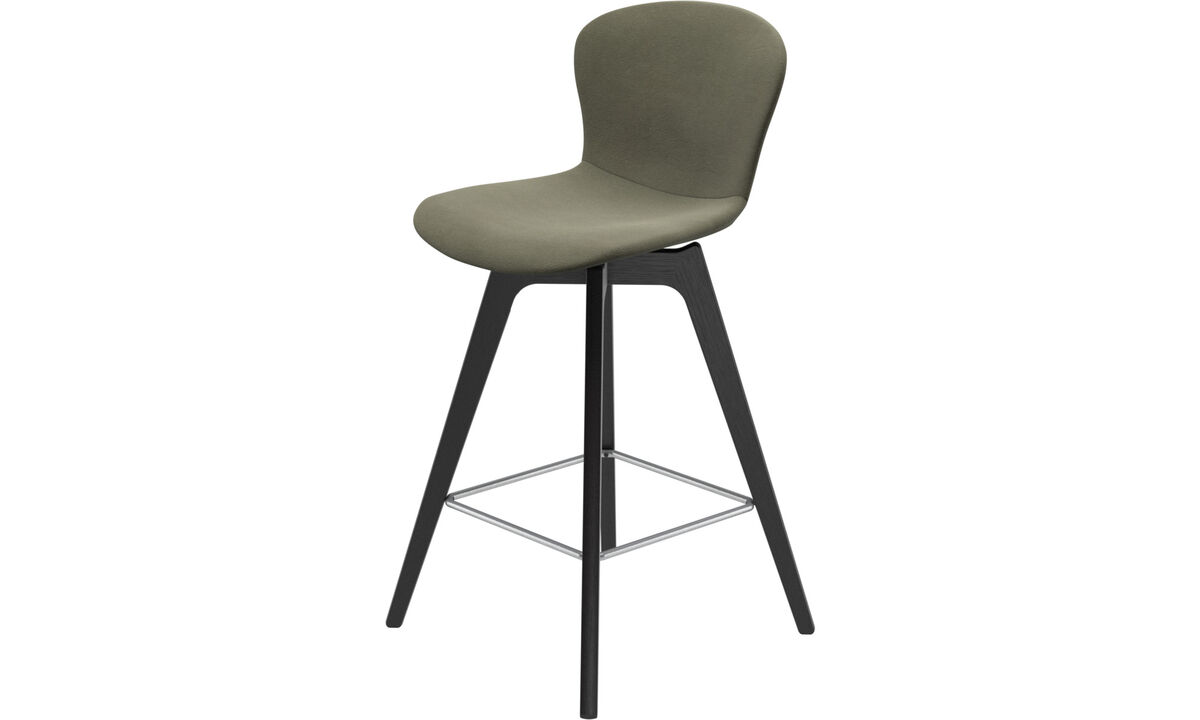 Bar stools - Adelaide barstool - Green - Leather