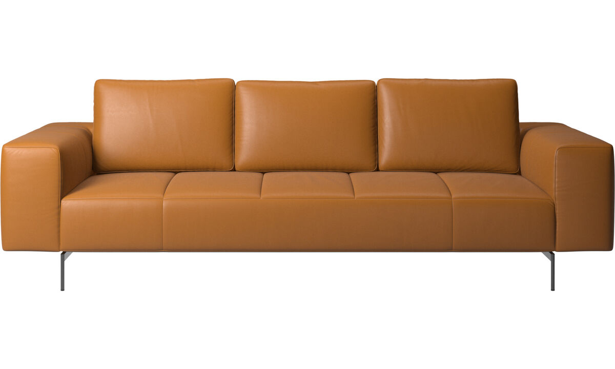 3 seater sofas - Amsterdam sofa - Brown - Leather