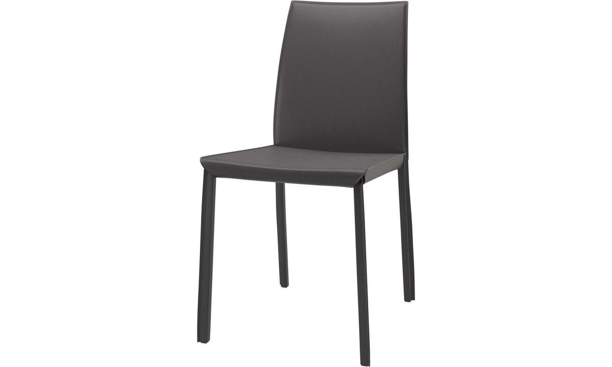 Chaises de salle à manger - Chaise Zarra - Gris - Synderme