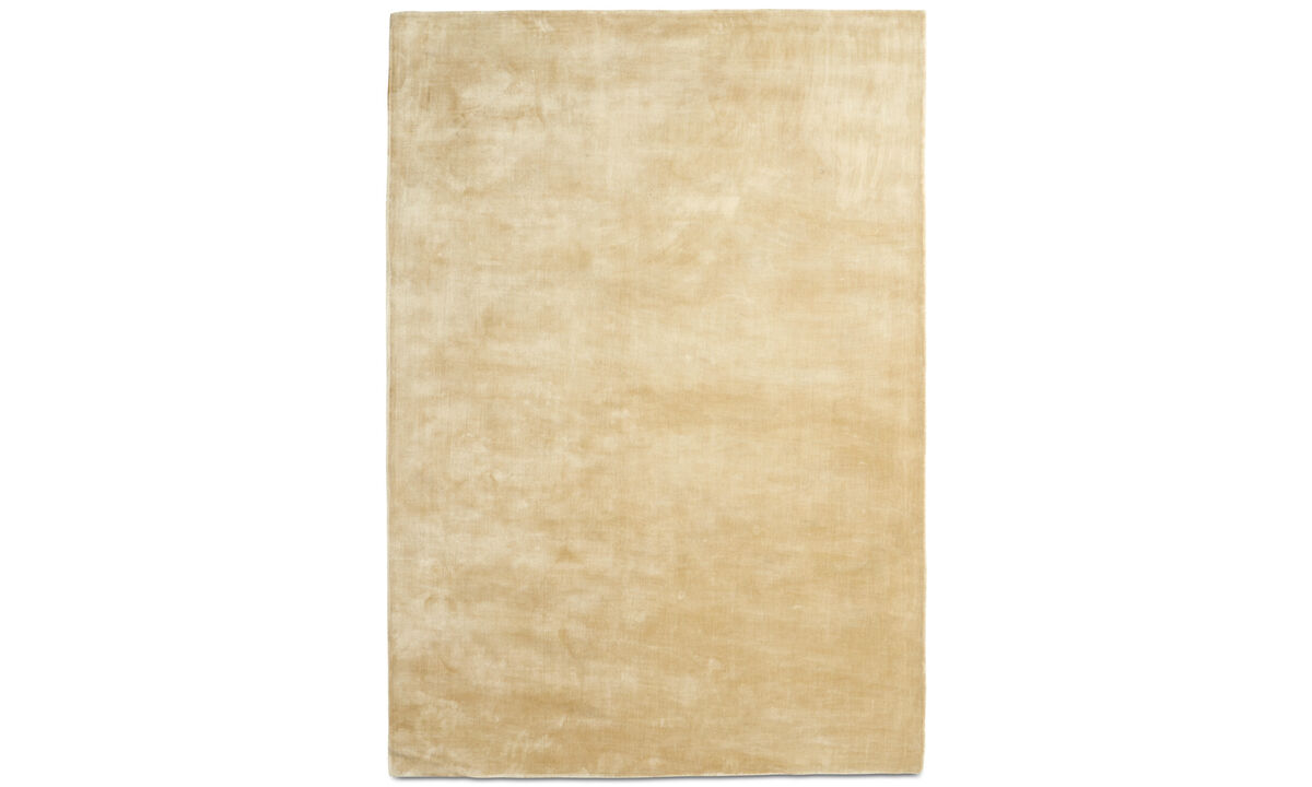 Rectangular rugs - Loom rug - rectangular - Beige - Tencel