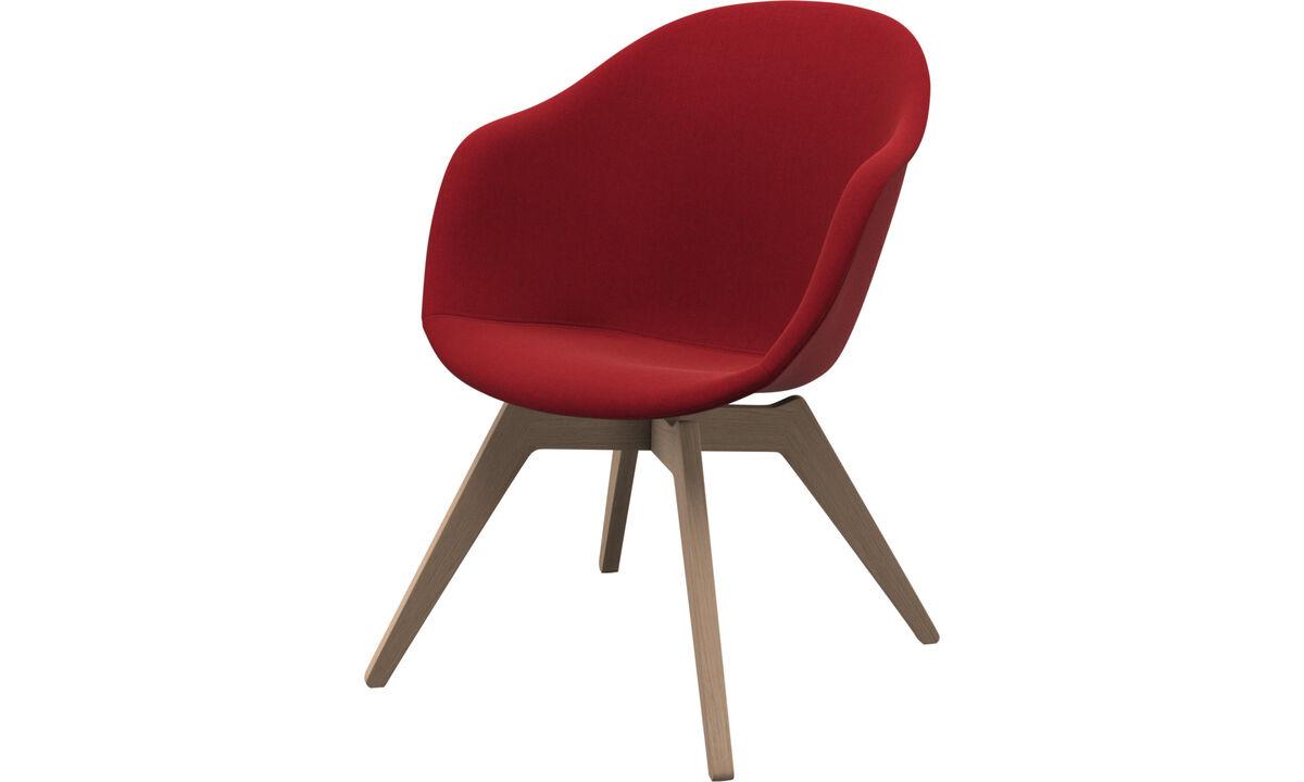 Lænestole - Adelaide Lounge stol - Rød - Stof