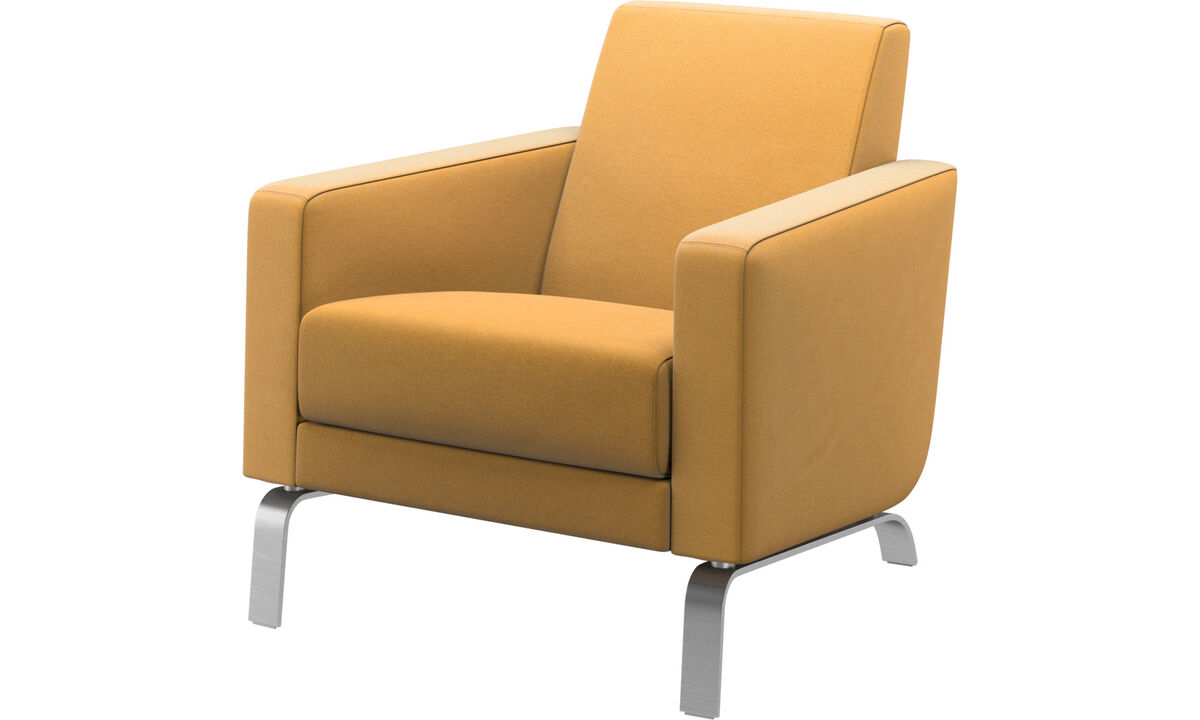 Armchairs - Fly chair - Yellow - Fabric