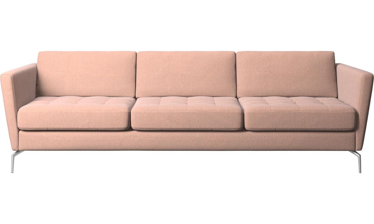 modern 3 seater sofas quality from boconcept. Black Bedroom Furniture Sets. Home Design Ideas