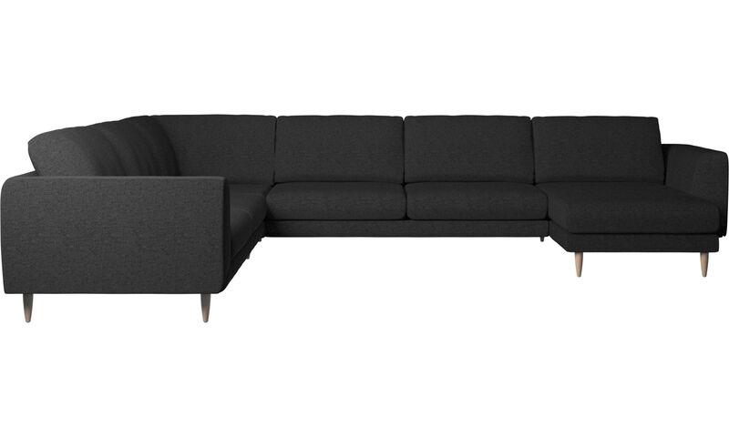 Sofás con chaise longue sofá esquinero Fargo con m³dulo chaise