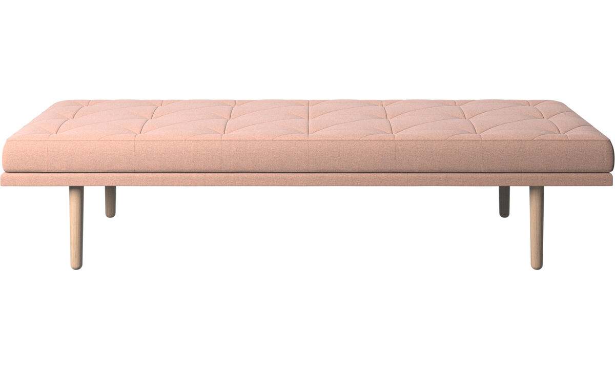 Chaise longue - fusion day bed - Rood - Stof