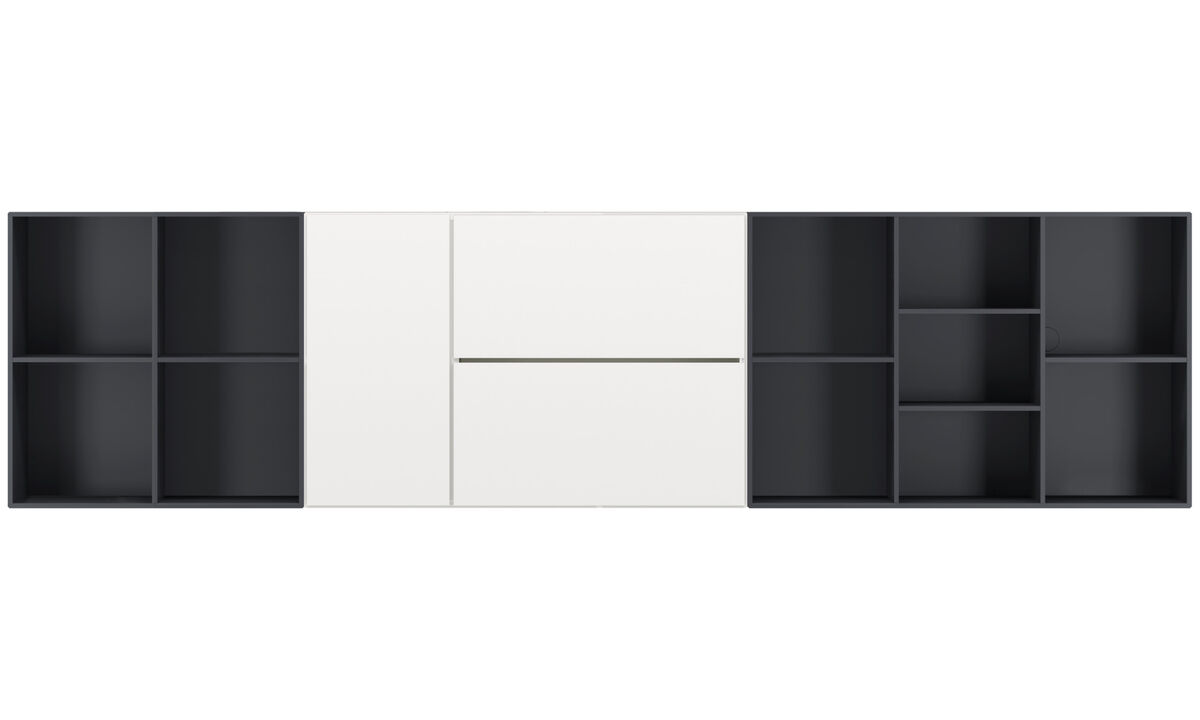 Wall systems - White - Lacquered