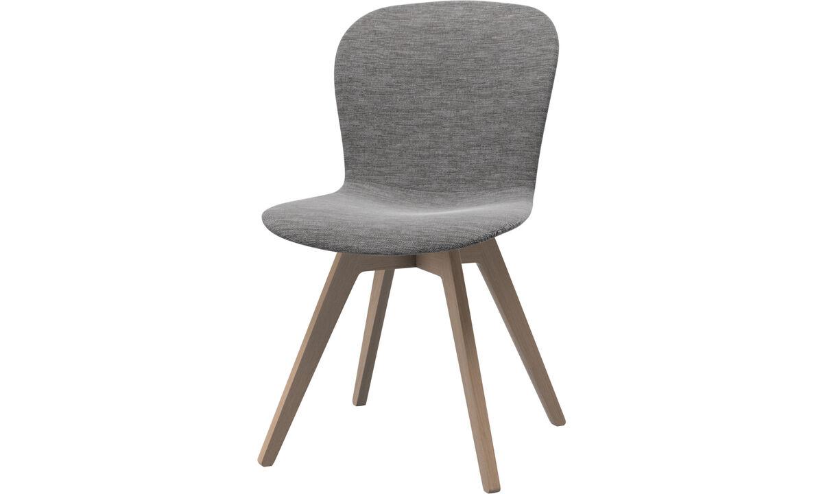 Spisestole - Adelaide stol - Grå - Stof