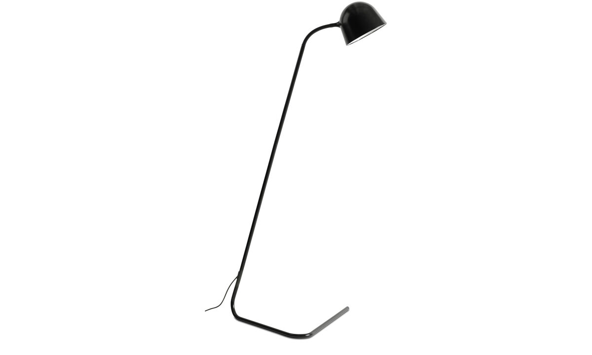 Floor lamps - Snake floor lamp - Black - Metal
