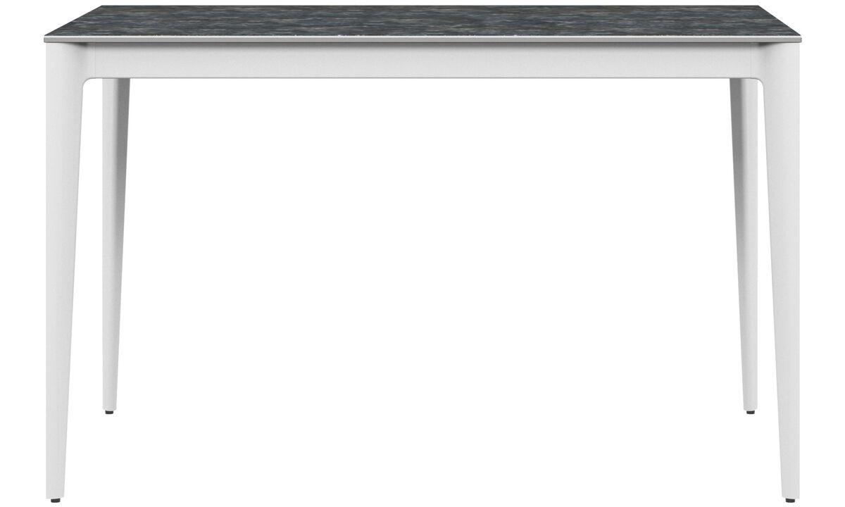 Mesas de exteriores - Mesa de exteriores Torino - rectangular - En gris
