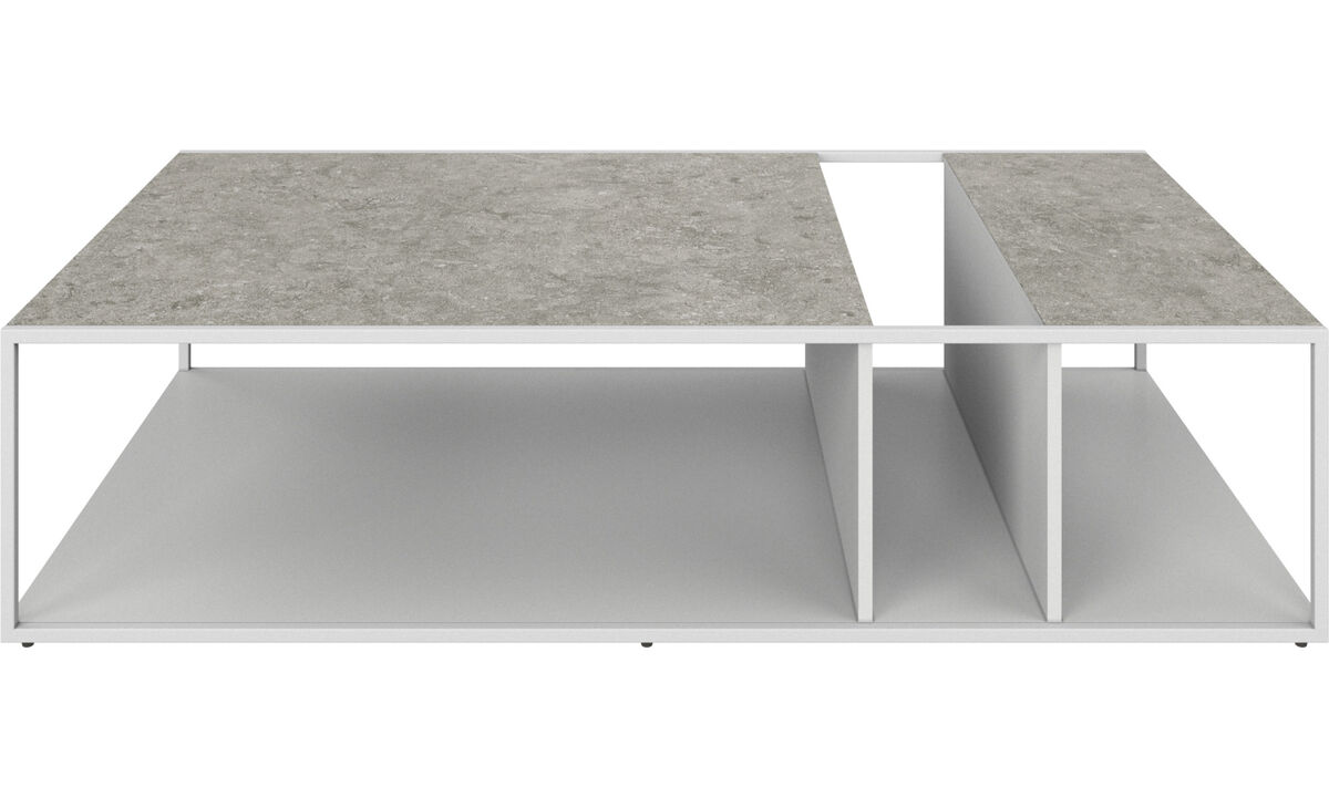 Coffee tables - Philadelphia coffee table - rectangular - Grey