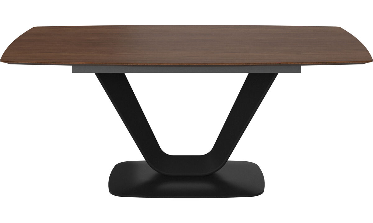 Dining tables - Alicante table - rectangular - Brown - Lacquered