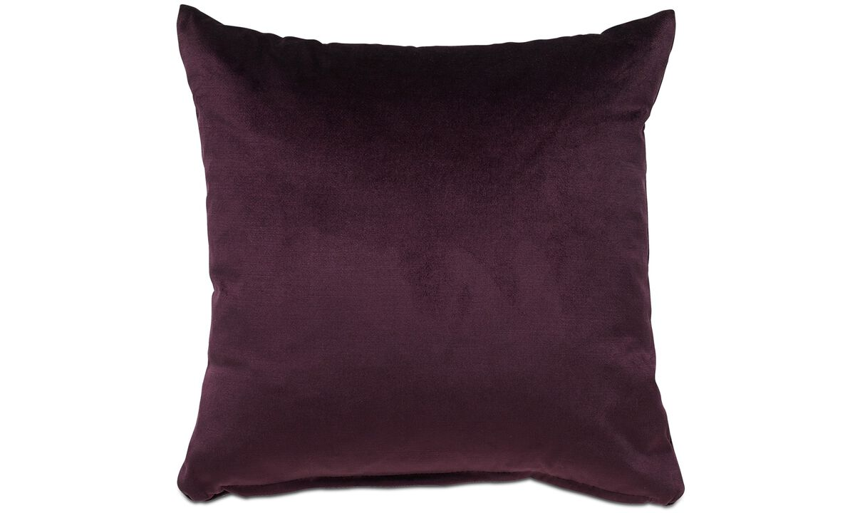 Velvet cushions - Velvet plain cushion - Fabric