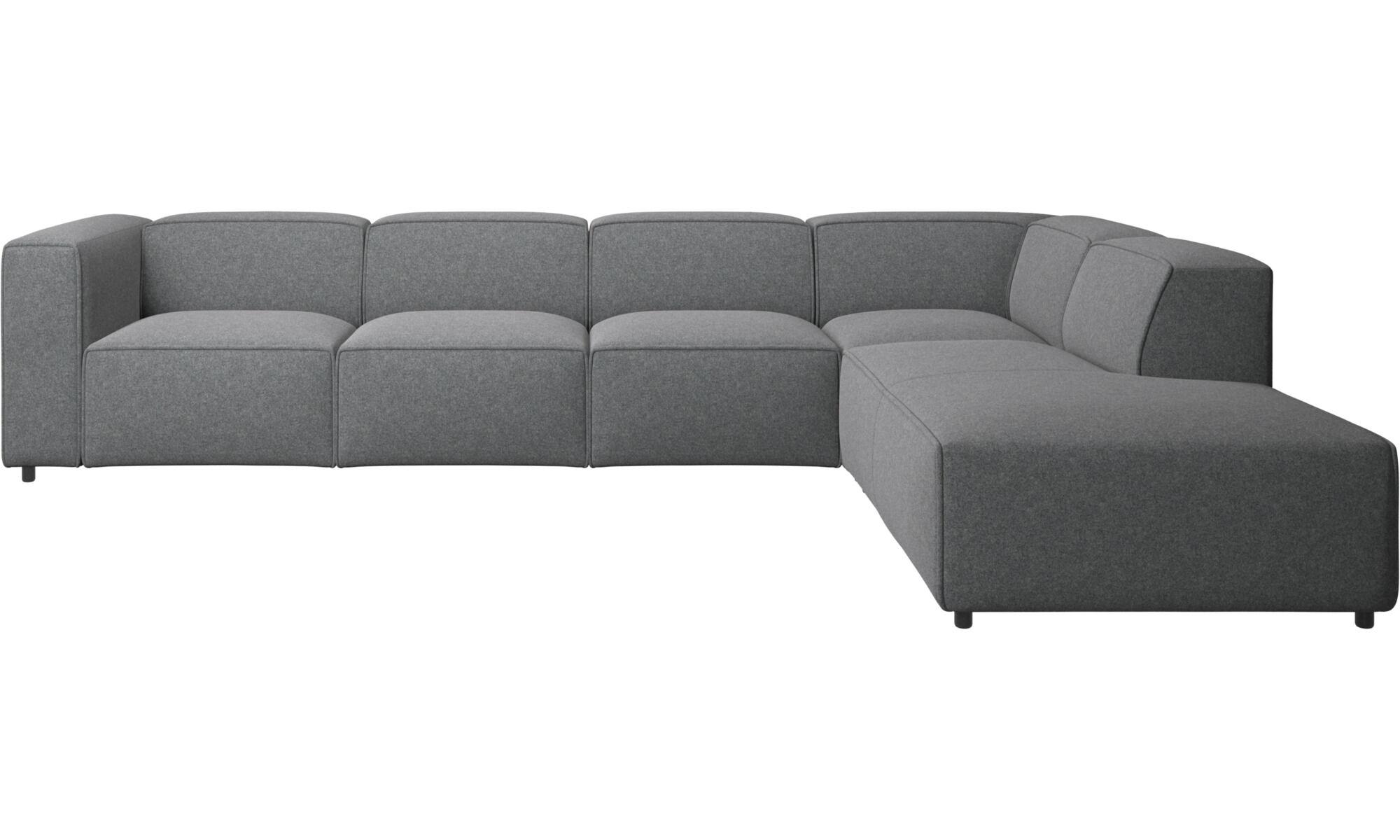 Corner Sofas   Carmo Corner Sofa   Gray   Fabric