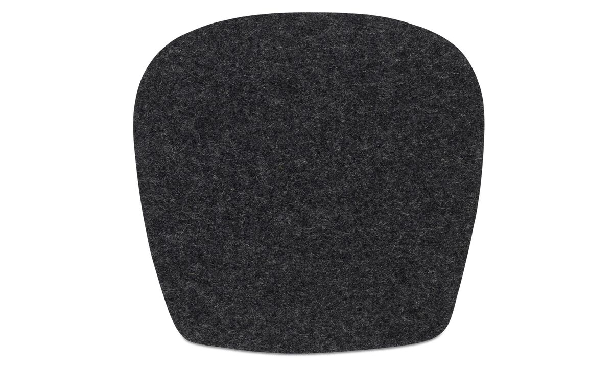 Seat cushions - Morgan seat cushion - Gray - Fabric