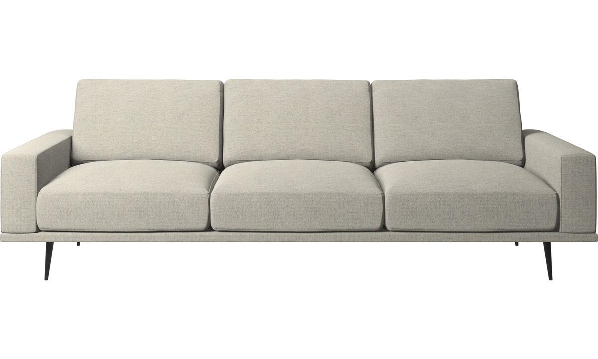 3 seater sofas - Carlton sofa - Beige - Fabric