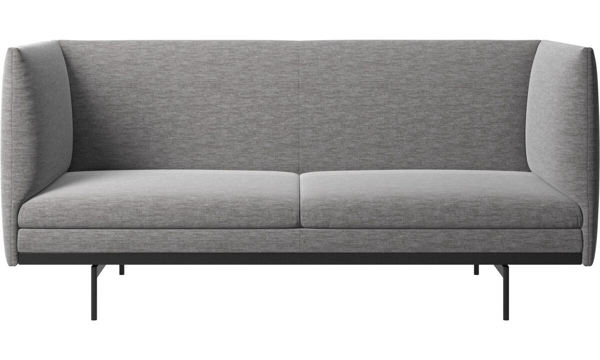 2 seater sofas - Nantes sofa - Grey - Fabric