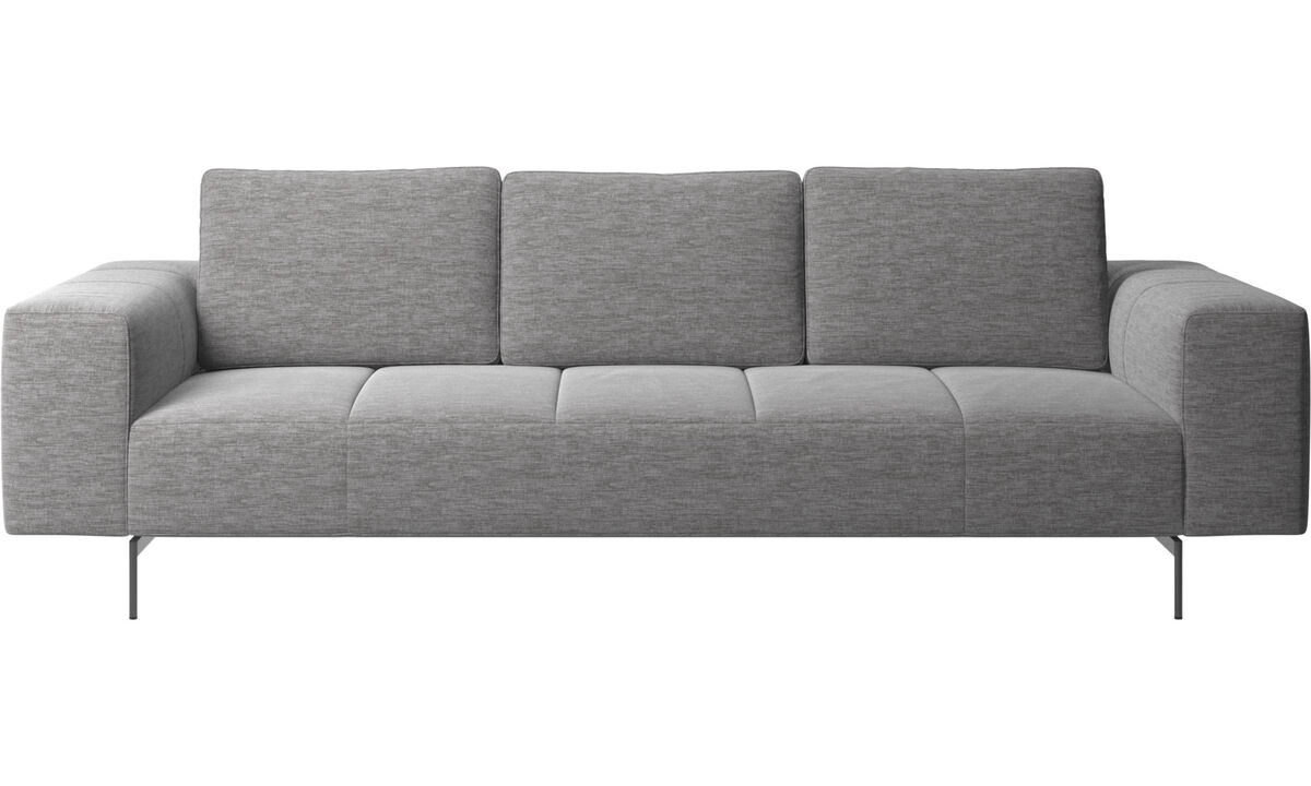 3 seater sofas - Amsterdam sofa - Grey - Fabric