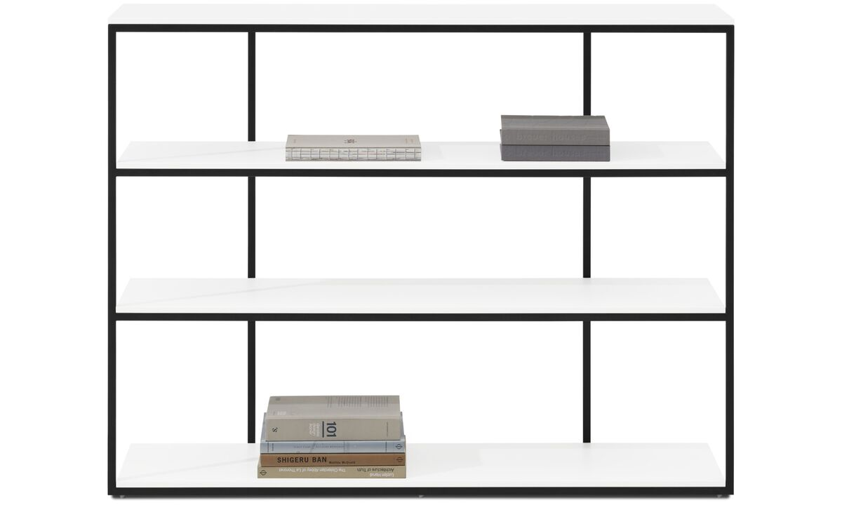 Muebles para recibidor - Consola Bordeaux - rectangular - Blanco - Laca