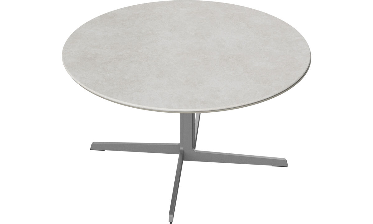 Coffee tables - Sevilla coffee table - round - Grey - Ceramic