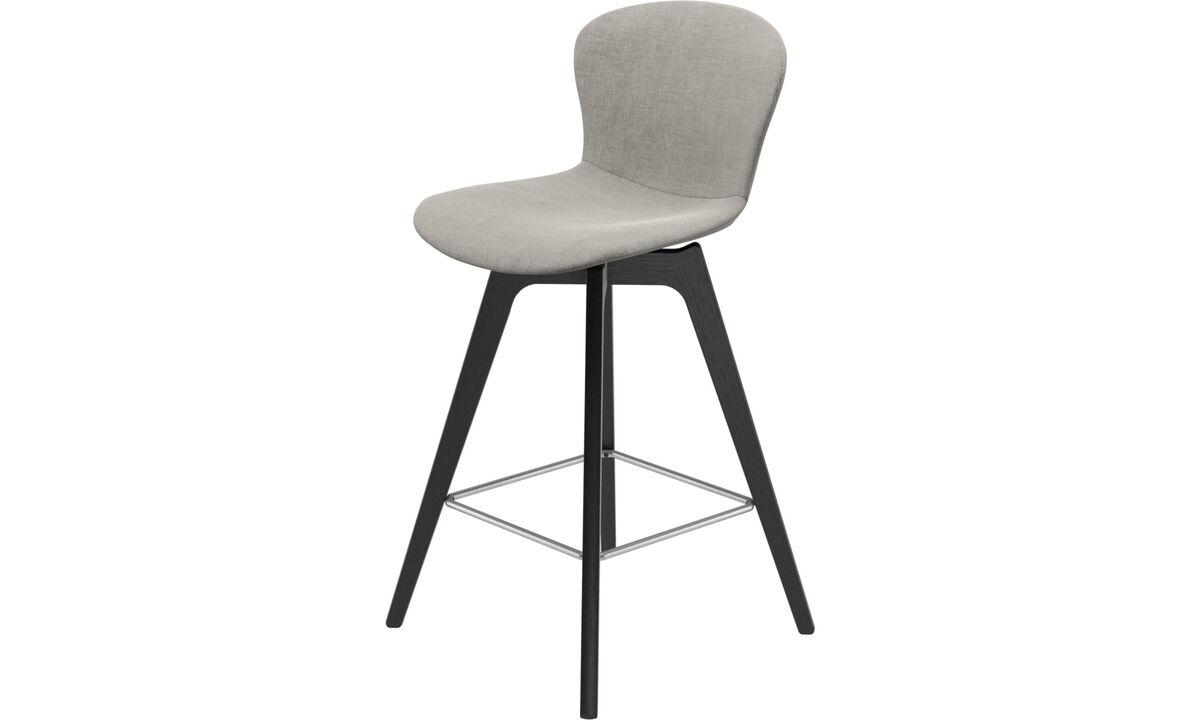 Bar stools - scaun de bar Adelaide - Grey - Fabric