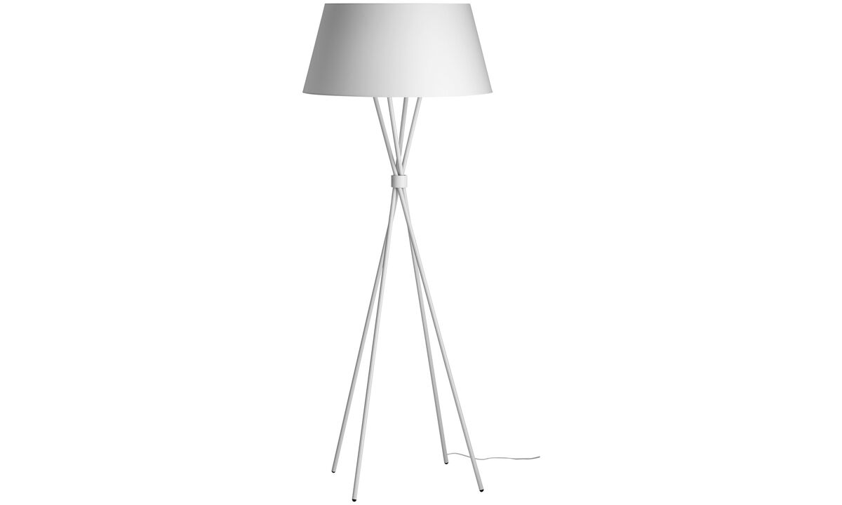 Lamps - Main floor lamp - White - Metal