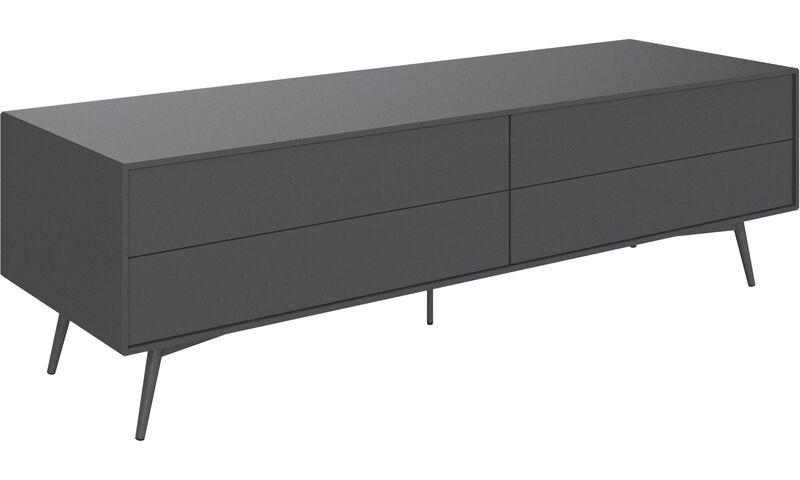 tv m bel fermo tv hifi modul mit klappt r und schublade. Black Bedroom Furniture Sets. Home Design Ideas