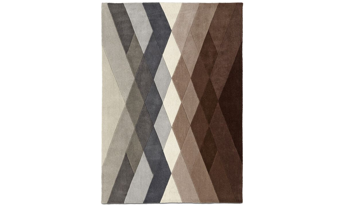 Nye designs - Vivus rug - rectangular - Lilla - Tekstil