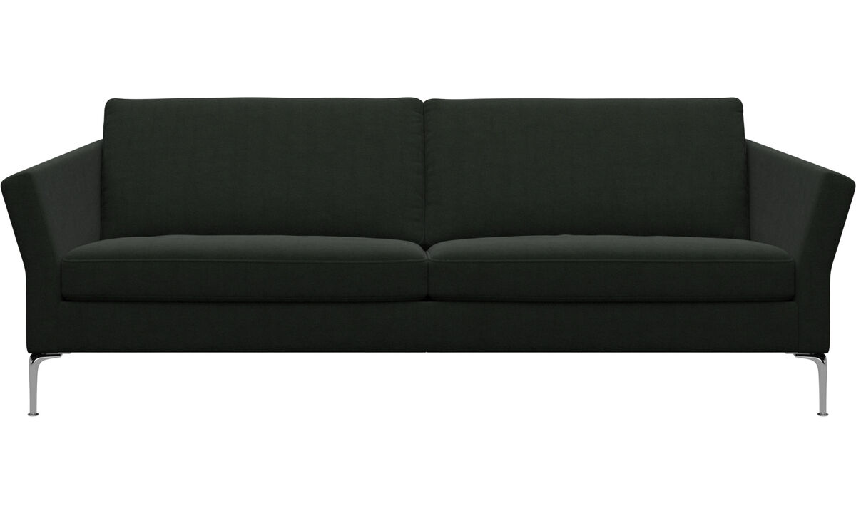3 seater sofas - Marseille sofa - Green - Fabric