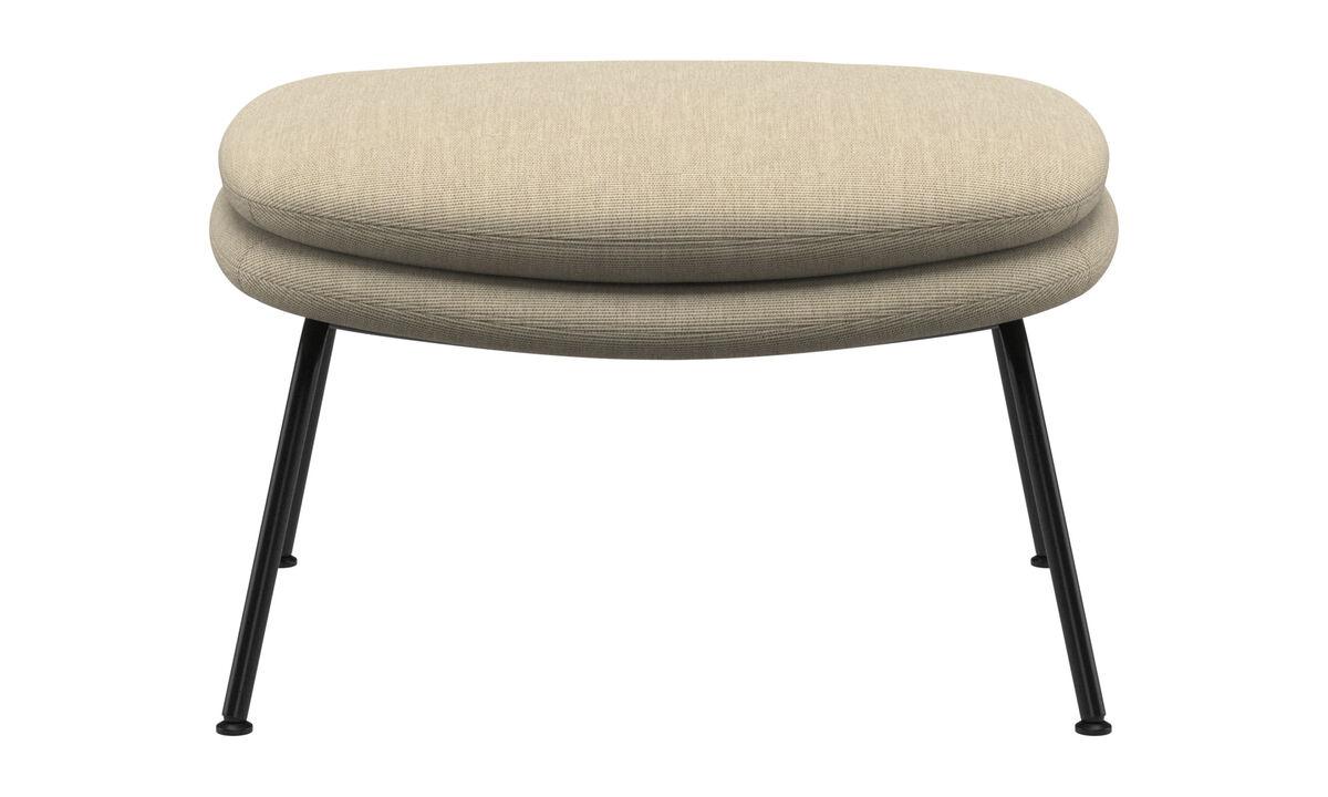 Footstools - Dublin footstool - Brown - Fabric
