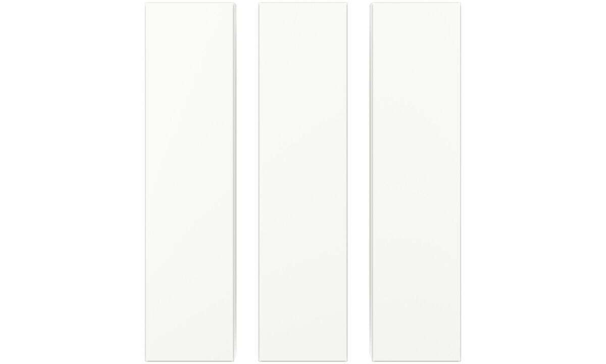 Wall systems - Lugano wall mounted cabinets - White - Lacquered