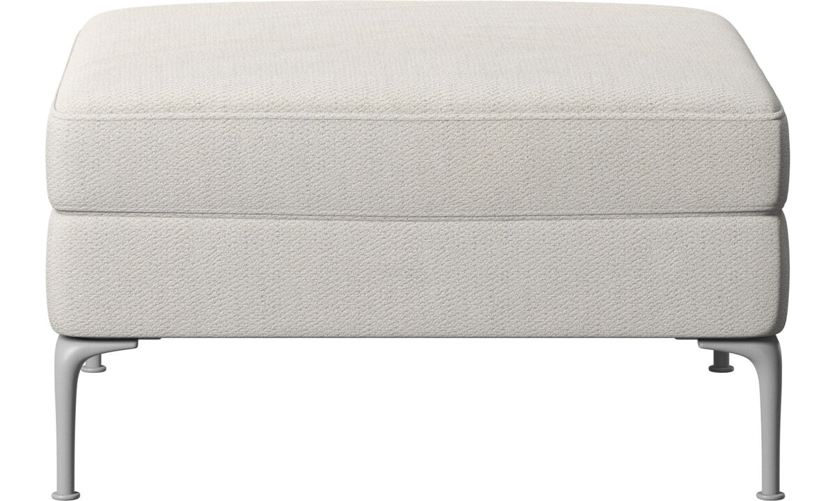 Footstools - Marseille pouf - White - Fabric