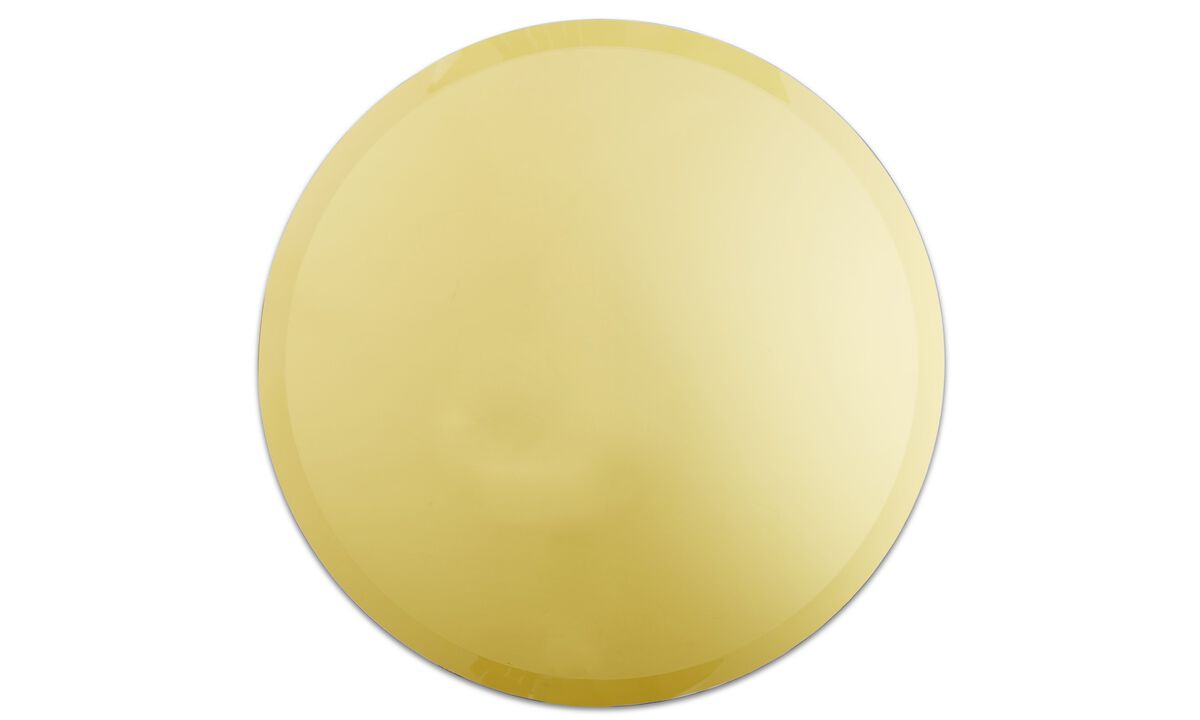 Christmas accessories - Tone mirror - Yellow - Metal