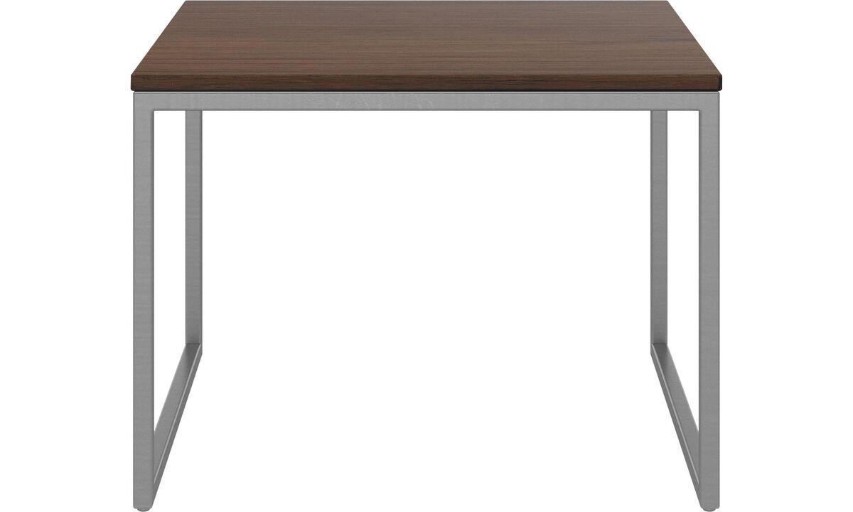 Mesas de centro - mesa de centro Lugo - cuadrada (if female noun) // cuadrado (if male noun) - En marrón - Nogal