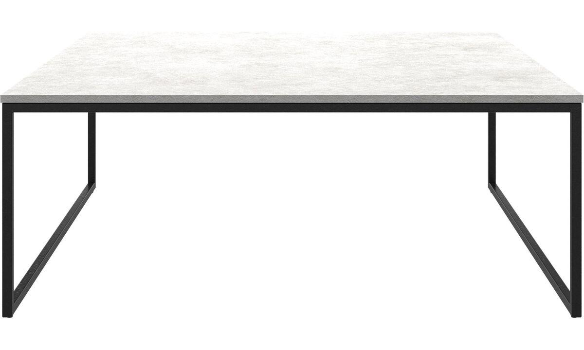 Couchtische - Lugo Couchtisch - viereckig - Grau - Keramik